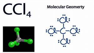Ccl4 Molecular Geometry    Shape And Bond Angles