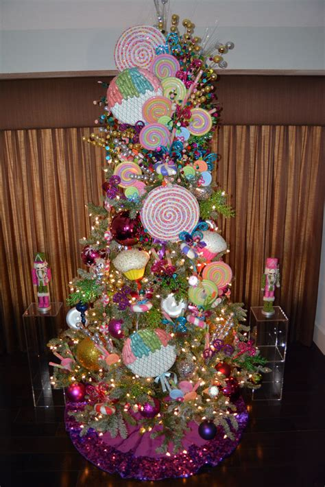 candyland christmas tree decor