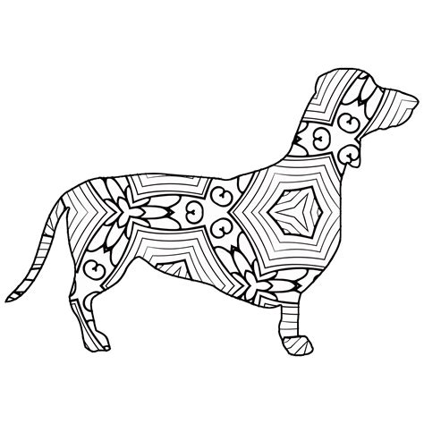 Geometric Animal Coloring Pages 2321528