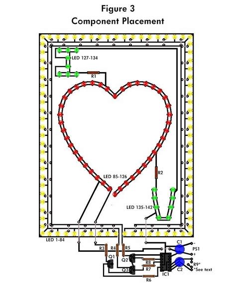 led schematic design