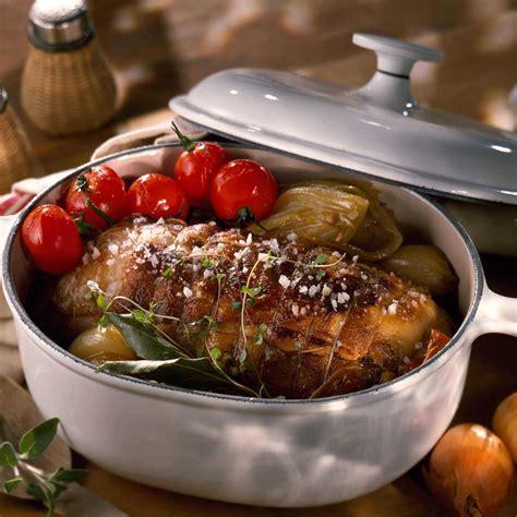 cuisiner roti de veau rôti de veau cocotte facile recette sur cuisine actuelle