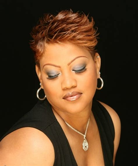 short hairstyles for fat faces african american hair in