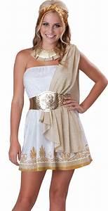 Teen Greek Goddess Aphrodite Junior Halloween Costume   eBay