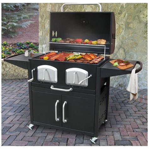 Backyard Grill South by Landmann Bravo Premium Charcoal Grill 588492 Grills
