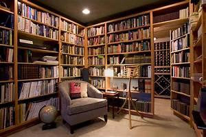 Small, Home, Library, Design, -, Decoratorist
