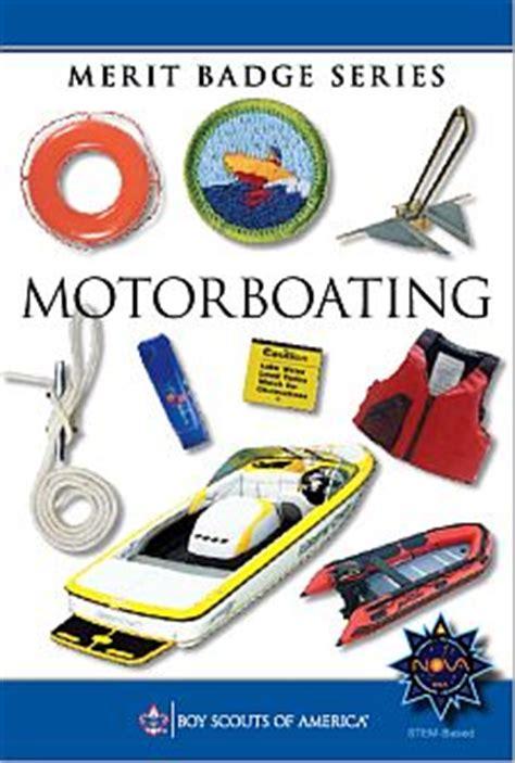 motorboating merit badge