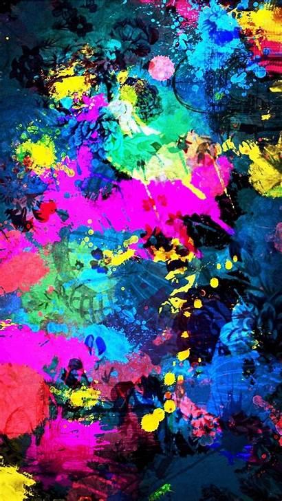 Colorful Iphone Wallpapers Background Splatter Splash Mobile9