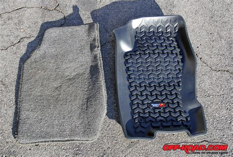 rugged ridge floor mats rugged ridge all terrain floor liners road