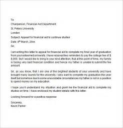 ... Financial Aid Appeal Letter, Financial Aid Appeal Letter, Financial Financial Assistance