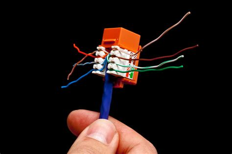 Ethernet Keystone Wiring wire your home for ethernet pcworld