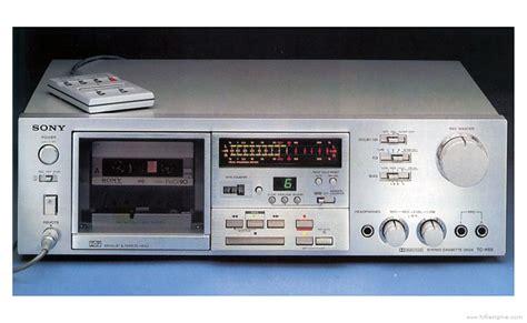 Sony Tck65  Manual  Stereo Cassette Deck  Hifi Engine