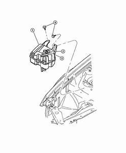 Chrysler Sebring Bottle  Coolant Recovery  Pressurized