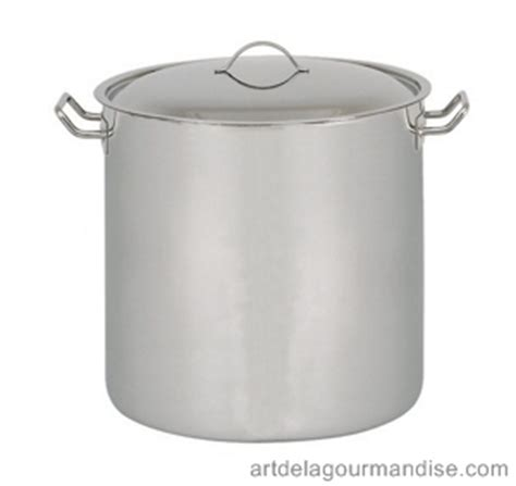 pot au feu casserole marmite inox pro 224 induction de la gourmandise