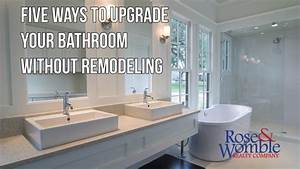 how to update a bathroom without remodeling image With update bathroom without remodeling