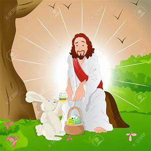 Happy Easter Jesus Bunny | www.pixshark.com - Images ...