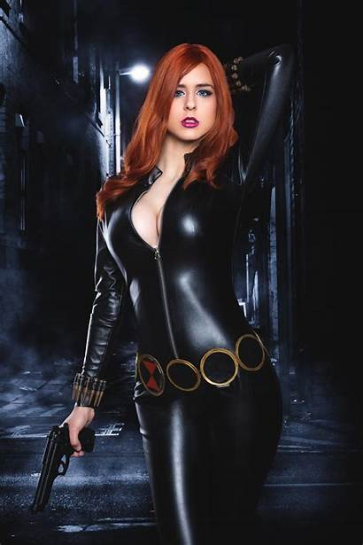 Widow Cosplay Marvel Deviantart Juby Headshot Jubyheadshot