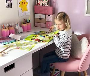 Chambre Fille Petit Espace : une petite chambre fille totalement girly et licorne ~ Premium-room.com Idées de Décoration