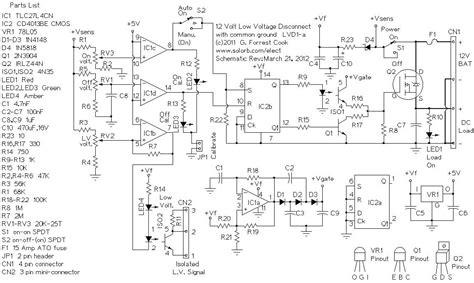 Lvd Volt Amp Low Voltage Disconnect Basic