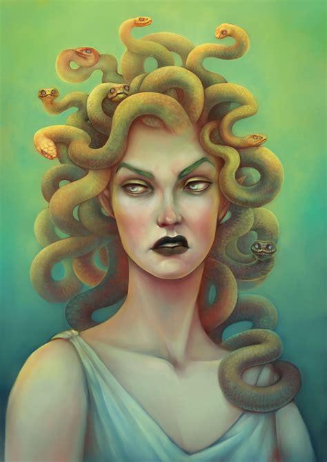 Gorgon | Medusa art, Mythological creatures, Greek creatures