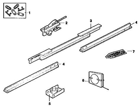 craftsman garage door opener parts craftsman garage door opener opener assembly parts model