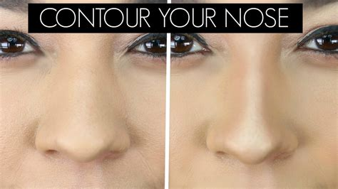 contour  nose   nose  smaller youtube