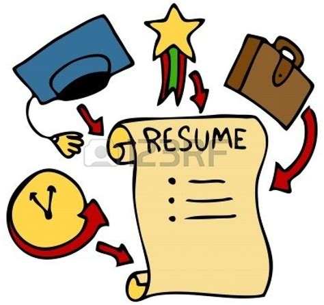 Sle Picture Of Resume by Resume 20clipart Clipart Panda Free Clipart Images