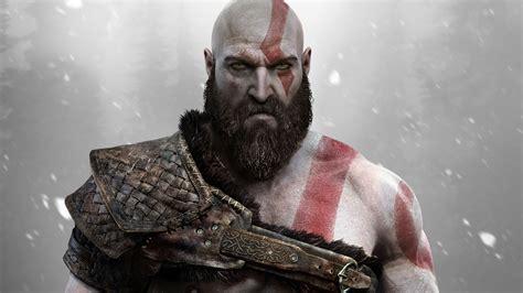 Wallpaper Kratos God Of War Ps4 2017 Games 4k Games
