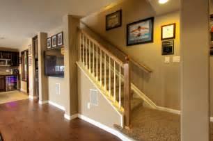 blue bathrooms decor ideas erie basement finish traditional staircase denver