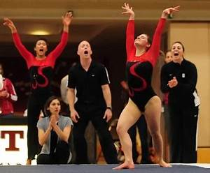 Stanford women earn important gymnastics victory | News ...