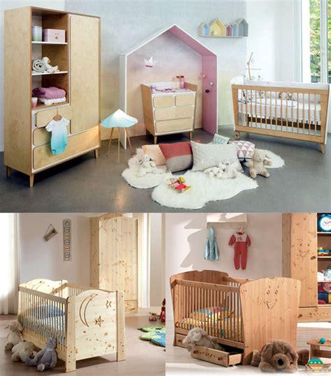chambre bebe en pin une chambre bébé au design scandinave couleur et