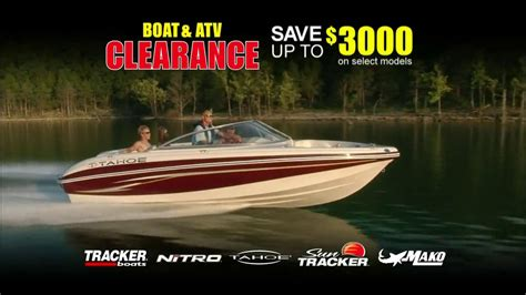 Bass Pro Shop Boat Clearance by Bass Pro Shops Tv Commercial For Tracker Clearance Sale