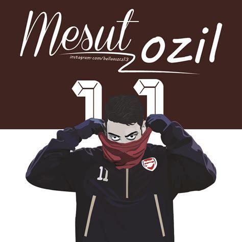 Mesut Ozils Vector Bella Szczesny