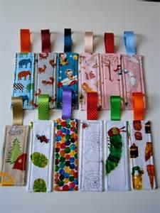 Pinterest Fabric Bookmarks