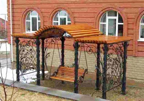 unique garden benches adding inviting  decorative