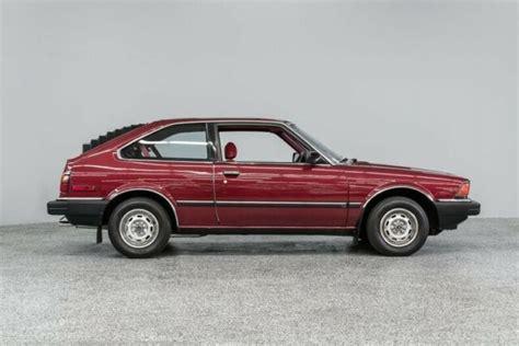 old cars and repair manuals free 1983 honda accord electronic toll collection 1983 honda accord lx 33734 miles burgundy hatchback 1 8l 5 spd manual classic honda accord