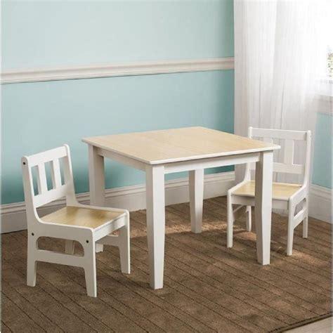 delta table enfant et 2 chaises en bois achat vente table et chaise cdiscount