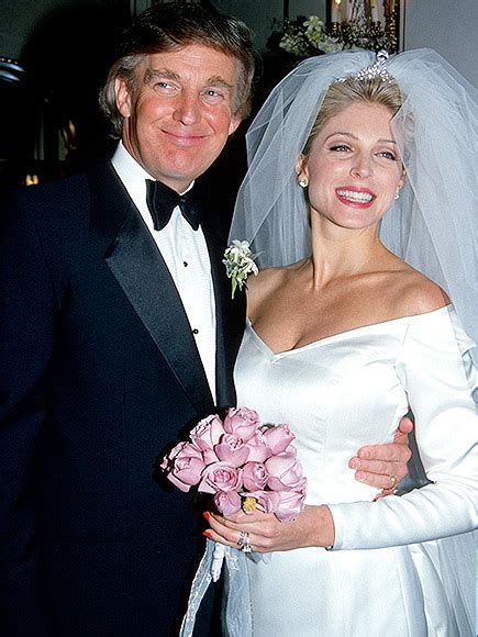 marla maples trump donald ex husband wife ivana know wives glamorous things scandalous past maple caption 1993 trumps divorced presidente
