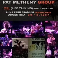 metheny pat bruce metheny pat metheny trio pat metheny 1987 still