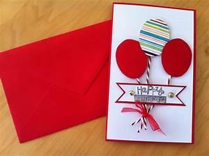 Geburtstagskarte Basteln Einfach : selbst kreative geburtstagskarte gestalten deko feiern geburtstag zenideen ~ Orissabook.com Haus und Dekorationen
