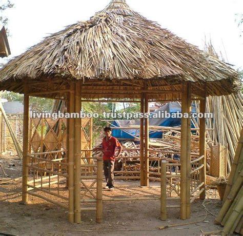 Buy Tiki Hut - bamboo gazebo bamboo hut bamboo house outside work