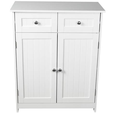 bathroom storage cabinets with drawers priano bathroom cabinet 2 drawer 2 door storage cupboard 11719