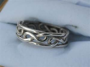 celtic eternity knot ring or celtic infinity knot ring With celtic infinity knot wedding ring