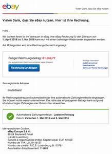02 Rechnung : mail ihre ebay rechnung f r april ist ab jetzt online verf gbar spam ~ Themetempest.com Abrechnung