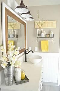 Bedroom Best Yellow Bathroom Decor Ideas Pinterest Diy On ...