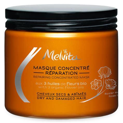 melvita masque concentre reparation cheveux secs
