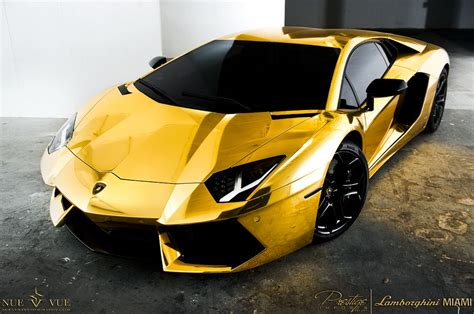 Gold Lamborghini Aventador by Gold Wrapped Lamborghini Aventador Lp 700 4 Project Au 79