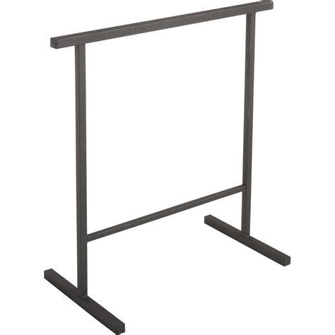 pied de table de cuisine tréteau acier h h 75 x l 71 cm leroy merlin