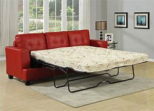 diamond red leather sofa bed With red leather sectional sofa bed