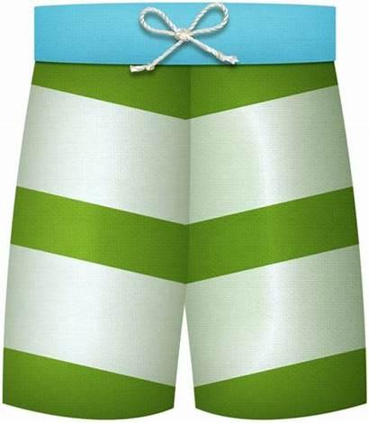 Clipart Summer Swim Trunks Beach Boy Swimsuit