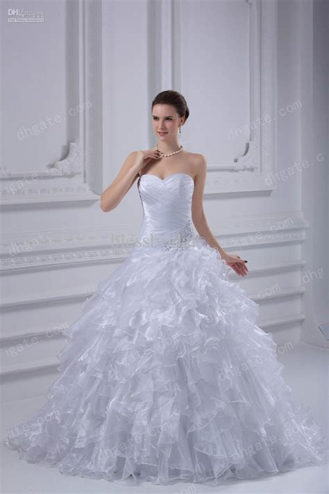 cutest wedding dresses custom made 2013 wedding dresses strapless organza